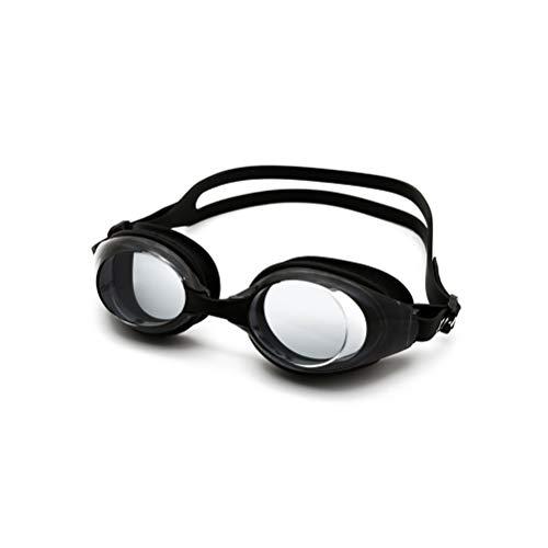 GYWY Schwimmbrille Erwachsene, Klarem Objektiv Schwimmbrille Ohne Leakage Wasserdichter Antibeschlag UV Schutz Triathlon Schwimmbrille für Männer Frauen,A