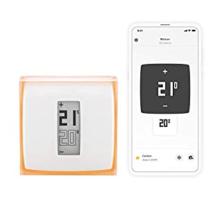 Netatmo NTH01-ES-EC Termostato Wifi Inteligente para caldera individual (Manual en inglés únicamente) (B00GWKW8SY) | Amazon price tracker / tracking, Amazon price history charts, Amazon price watches, Amazon price drop alerts