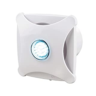 Aeropush Design-Abluftventilator mit LED-Beleuchtung