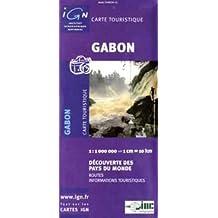 Carte routière : Gabon