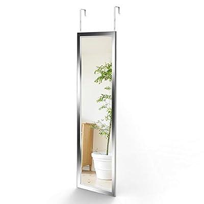 Dripex Wandspiegel 33x119cm Hängespiegel unbrechbarer Garderobenspiegel Flurspiegel höhenverstellbarer Spiegel mit Haken 10 Jahre Garantie