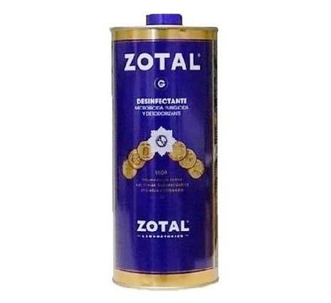 Limpieza y desinfección del hogar. Desinfectante/ fungicida Zotal-g [5 formatos]