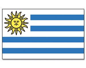 Yantec drapeau uruguay 150 x 250 cm