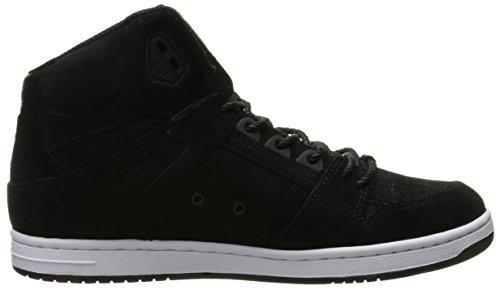 DC Rebound Femmes Haute XE Chaussures de skate Black smooth