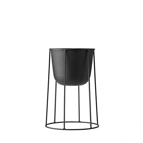 Rig Tig by Stelton Wire Pot Blumentopf ø 23 cm, h 40 cm - schwarz