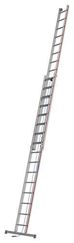 HYMER 405132 Seilzugleiter zweiteilig, 2x16 Sprossen