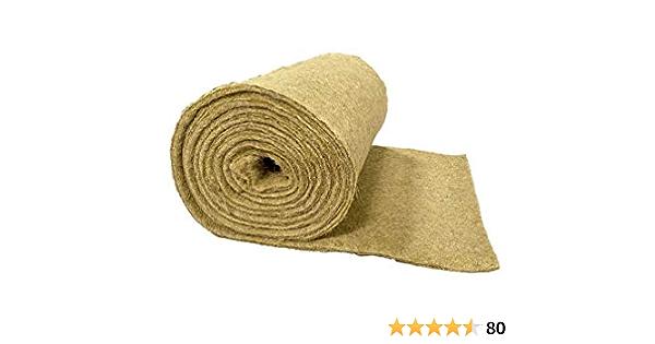 tappetino per roditori adatto come rivestimento per pavimenti a gabbia 11,00 EUR // m/² Tappeto di roditore realizzato al 100/% in canapa 0,50 x 5,00 m x 1 cm di spessore