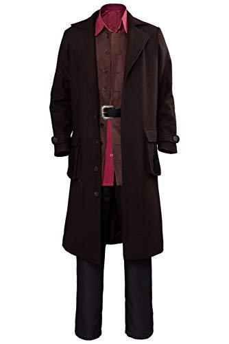 Bilder Party College Kostüm - RedJade Rubeus Hagrid Harry College Giant Professor Rubeus Hagrid Outfit Cosplay Kostüm Braun Herren XXXL