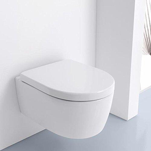 Preisvergleich Produktbild Keramag iCon Wand-Tiefspül-WC ohne Spülrand weiß mit KeraTect