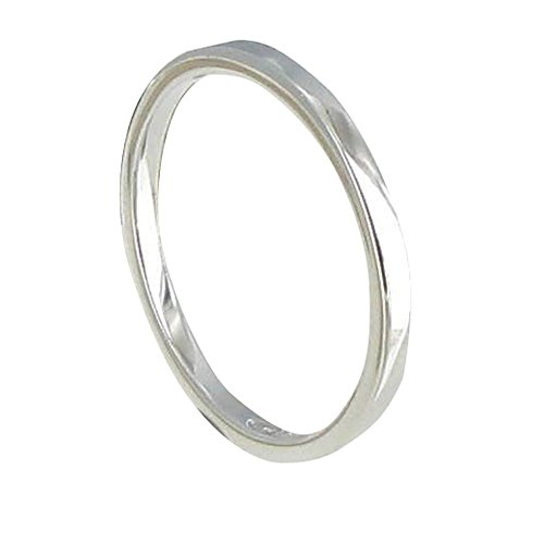 Schmuck Les Poulettes - Sterling Silber Ring Allianz - grobe 48 (15.3)