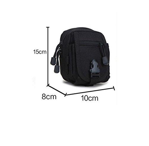 Outdoor-Sport-Utility-Taschen Der Kasse Paket Reiten Jogging-Tour-Paket armygreen