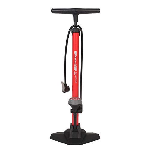 APPLL Bomba De Suelo para Bicicleta con Manómetro Presta Schrader Adaptador De Válvula 160Psi Pedal...
