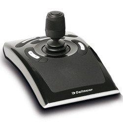 VMC-joystick-joystick dALLMEIER la vMC - 1 contrôle de caméras pTZ-dome en association avec des systèmes de commande et d'une auswertesoftware sMAVIA semsy ® workstation le client ou vMC joystick de la communauté autonome d'affichage et sélection de l'appareil photo d recorders être utilisé