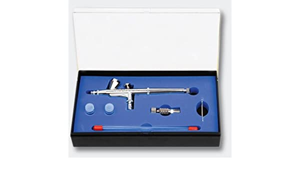 Wiltec Airbrushpistolen Set 136T 0,2 0,3 0,5 mm Double