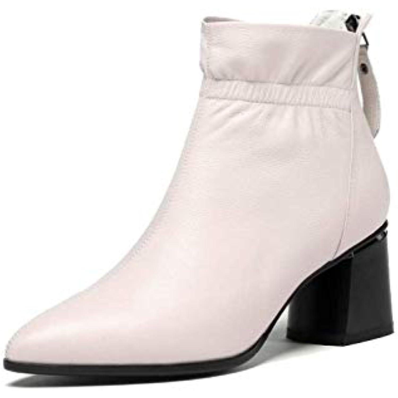 a03ff6c4eb535 ZPEDY Bottines, Chaussures pour Femmes, Version Cor eacute enne, Mode,  Pointues, Bottines, ZPEDY Talons Hauts, Fermeture eacute clair, Confort -  B07J3GMXM6 ...