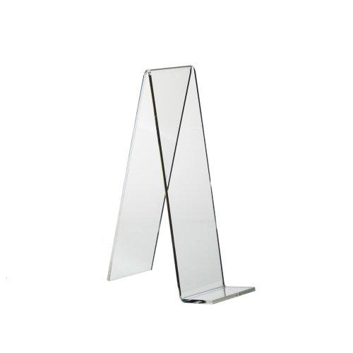 5 Stück Schrägsteller/Warenstütze / Buchstütze 180x50mm aus Acrylglas