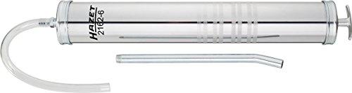 HAZET Hochleistungssaug- und Druckspritze (Füllmenge 1000 ml, verzinktes Stahlgehäuse, für schnellen Austausch von Getriebeöl) 2162-6