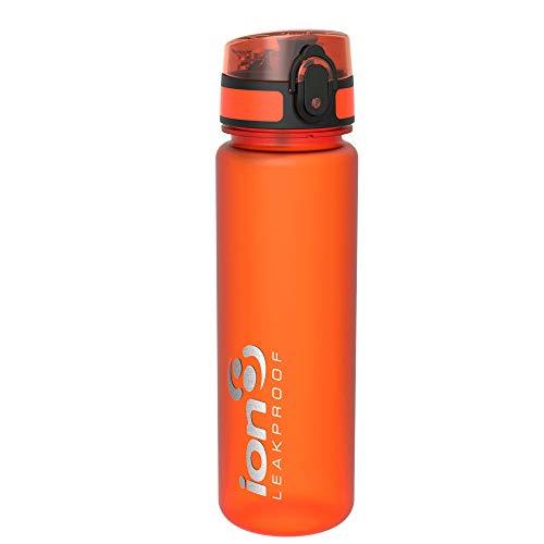 Ion8 bottiglia per l'acqua, a prova di perdite, senza bpa, 500ml / 18oz, arancia