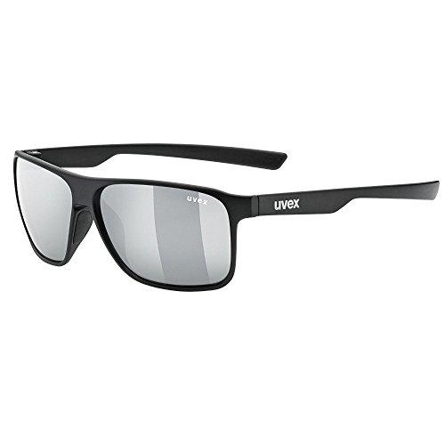 Uvex lgl 31 pola Sonnenbrille, black mat, One Size