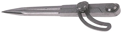 Bogenzirkel Länge 150mm Stahl fein poliert DIN 6486