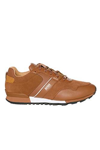 BOSS Herren Parkour_Runn_sdtb Sneaker, Braun (Medium Brown 210), 41 EU