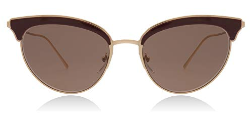 Ray-Ban Damen 0PR 60VS Sonnenbrille, Rose Gold/Bordeaux, 54