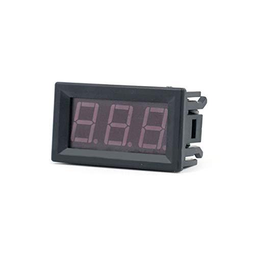 DC4.5V-30.0V 0.56in 2 fili LED display digitale voltmetro elettrico voltmetro volt tester per auto batteria auto moto di ballylelly