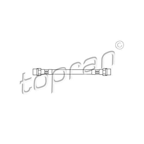 TOPRAN flexible de frein, 104 163