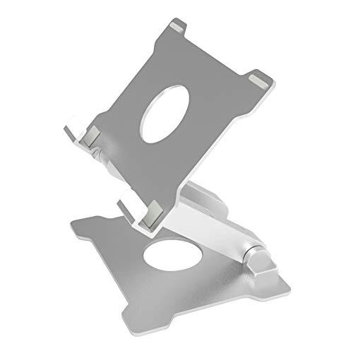 Spessn Aluminium Tablet Ständer, Desktop Verstellbare Metall iPad Halter Laptop Halterung, Passend für iPad Pro 12.9/iPad Mini/iPad 9.7/Surface Pro 3/4 und Laptops innerhalb von 12 Zoll, MEHRWEG