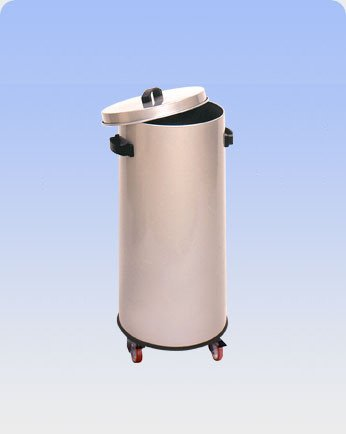 Acier inox AISI 304 couvercle de poubelle Upper Lt. 70 38X74H Mobilier de Bureau