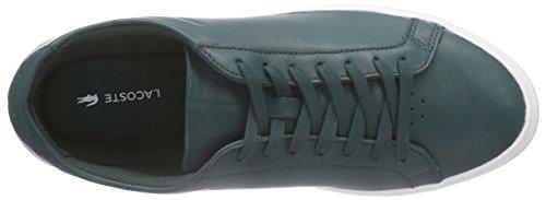Lacoste L.12.12 116 1 Cam, Chaussures Bateau Homme Rouge (Darkgrey 248)
