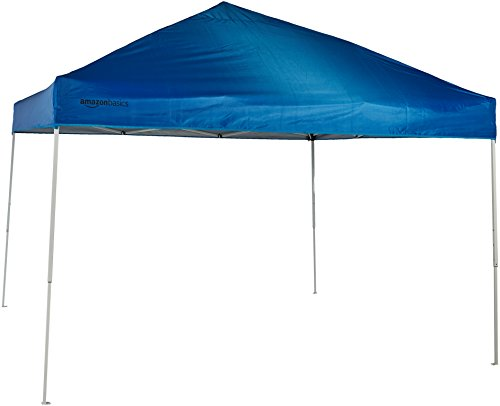 AmazonBasics - Gazebo richiudibile, 3,04 x 3,04 m, Blu