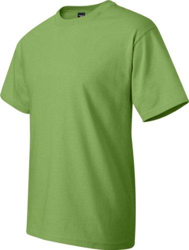 Hanes–Maglietta a maniche corte Beefy Pear Green