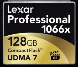 Lexar lcf128crbeu1066 - scheda di memoria professionale compactflash da 128 gb, velocità 1066x, 160 mb/s