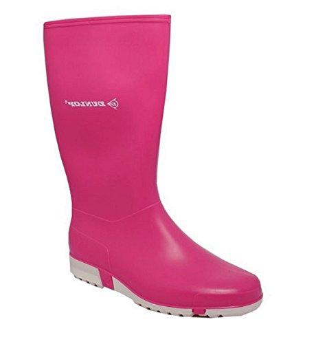 Boys Girls Kids Junior Dunlop Waterproof Wellies Wellington Boots