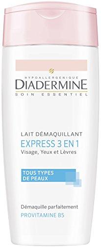 Diadermine - Lait Démaquillant Express 3 en 1 - 200 ml