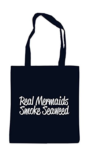 Real Mermaids Smoke Seaweed Sac Noir