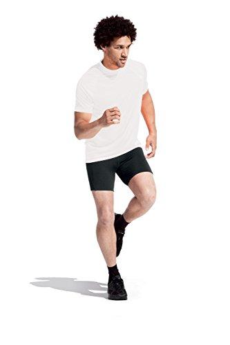 Sport T-Shirt Herren Weiß