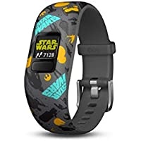 Garmin Vivofit Jr. 2 - Star Wars The Resistance Kids Fitness Activity Tracker - Adjustable