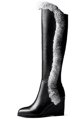 Laruise , Bottes Souples femme Noir
