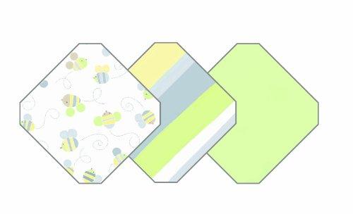 SwaddleMe SWDL_MULTI-3_BP2MIXG - Ganzkörper-Pucksack hilft bei Schreibabys, Neugeborenes/Baumwolle, 3er-Pack, grün-Mix