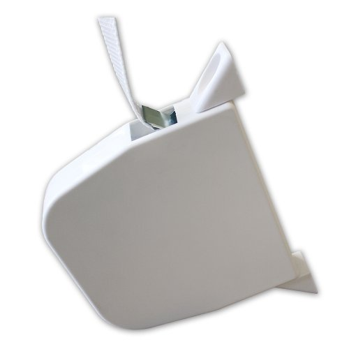 Aufputz-Gurtwickler MAXI inklusive Gurtband grau 7,5m 23mm Breite