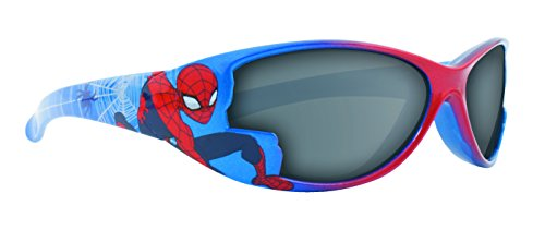 bcadc04092ab Spiderman Marvel Comics Boys Blue Sunglasses 100% UV Protection ...