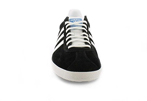 New Mens/Gents Black Adidas Originals Classic Athletic Shoes/Trainers. – Blk/Met.Gold/White – UK SIZE 9