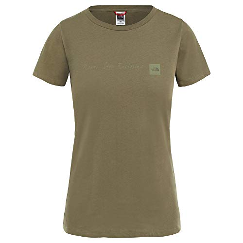 THE NORTH FACE S/S NSE Tee Women Größe M New Taupe Green (Womens North Face Tee)