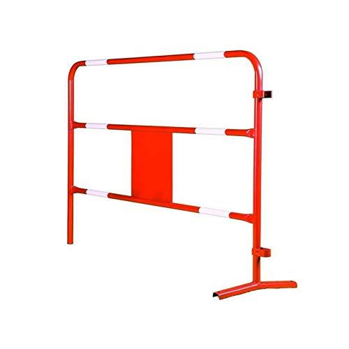 Barrière de chantier rouge - Ø 28 mm