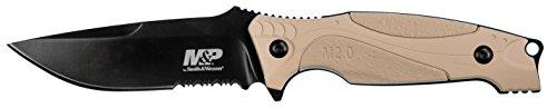 710 Gürtelmesser M&P | Klingenlänge: 11 cm | Kunststoffgriff, mehrfarbig ()