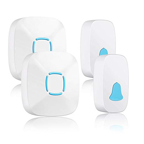 Xiaoyub campanello senza fili da esterno campanello per campanello remoto wireless digitale con campanello di chiamata intelligente