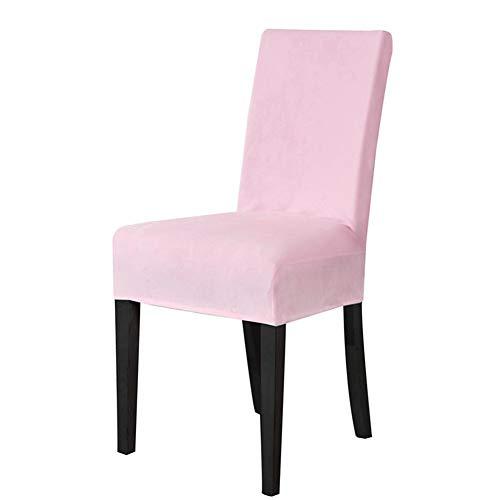 Stretch Fox Velvet Stuhlabdeckung, Stuhl Protector abnehmbare waschbar Esszimmerstuhl Abdeckung für Bankett Hochzeit nach Hause speisen Stretch Velvet