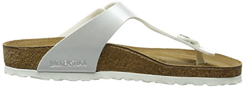 Birkenstock Gizeh, Tongs Blanc (Pearly White)